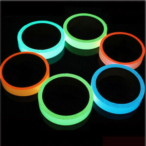 Luminous Tape Waterproof Self-adhesive Glow In Dark Safety Stage Home Decor --