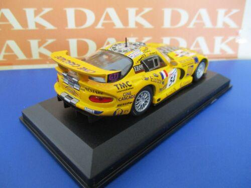 Die cast 1//43 Modellino Auto Chrysler Viper GTS-R N54 24H Le Mans 2000