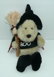 Details About Halloween Boo Witch Bear Starbucks Bearista Plush Stuffed Animal Costume Warlock