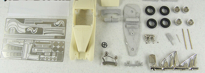 Abc brianza kit brk43322 delage v8s roadster de villars rs 1933 chassis 38021
