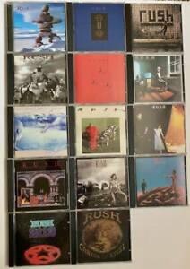 Rush CD lot-- 14 compact discs 1975-1996
