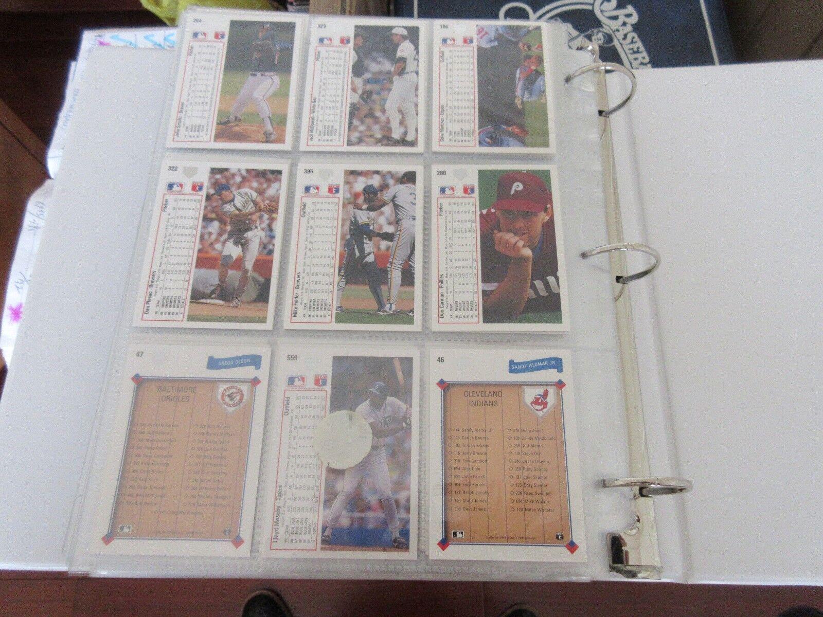 Upper Deck , Baseball Cards , 1990 , Lot of 50 , 533341