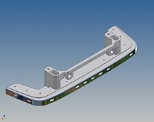 LBSNR - Low-Bar für Tamiya Scania mit der New-R Front - Maßstab 1:14 mit LEDs