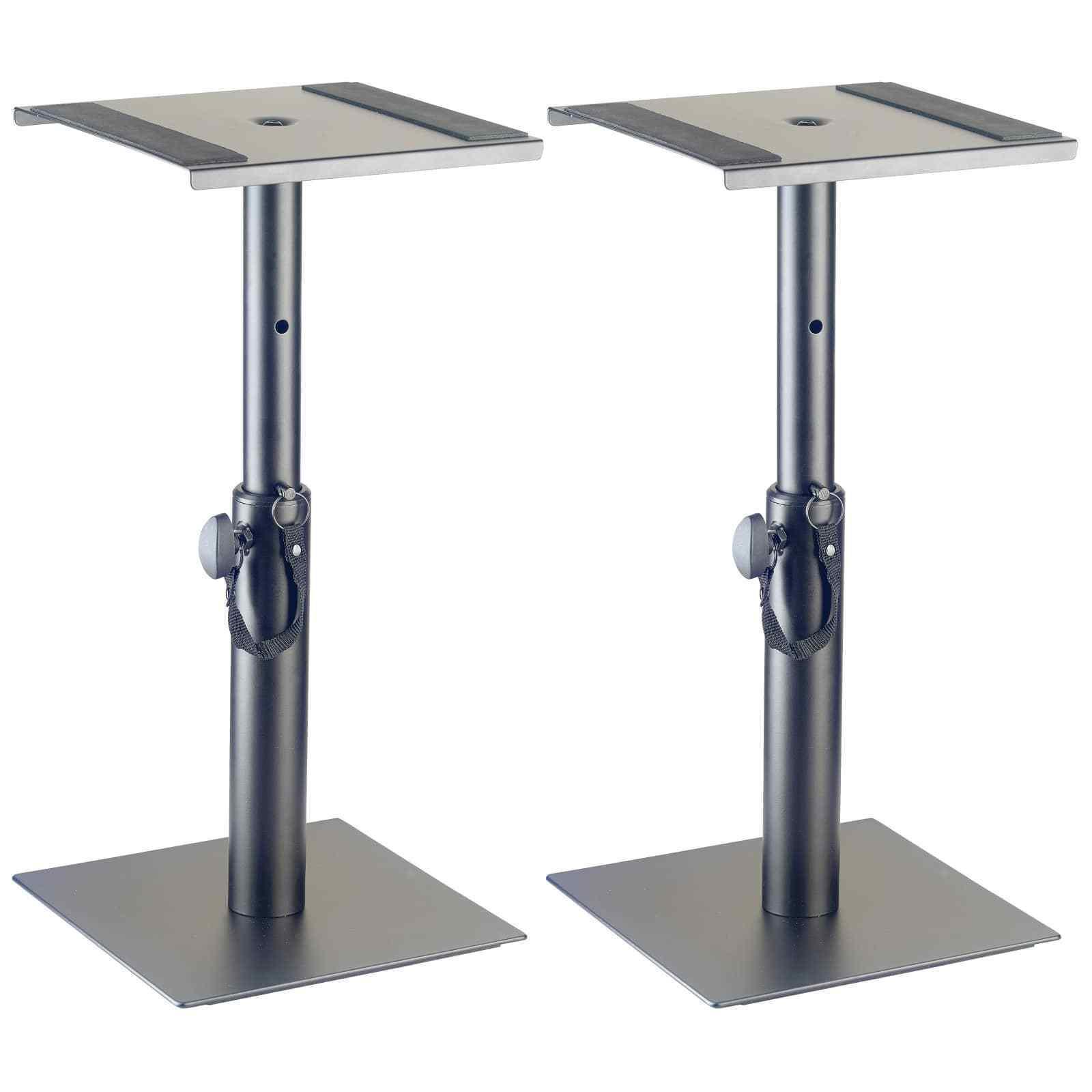 Stagg SMOS-05 SET Desktop Monitor Stands (PAIR), Studio & DJ Speaker Stands