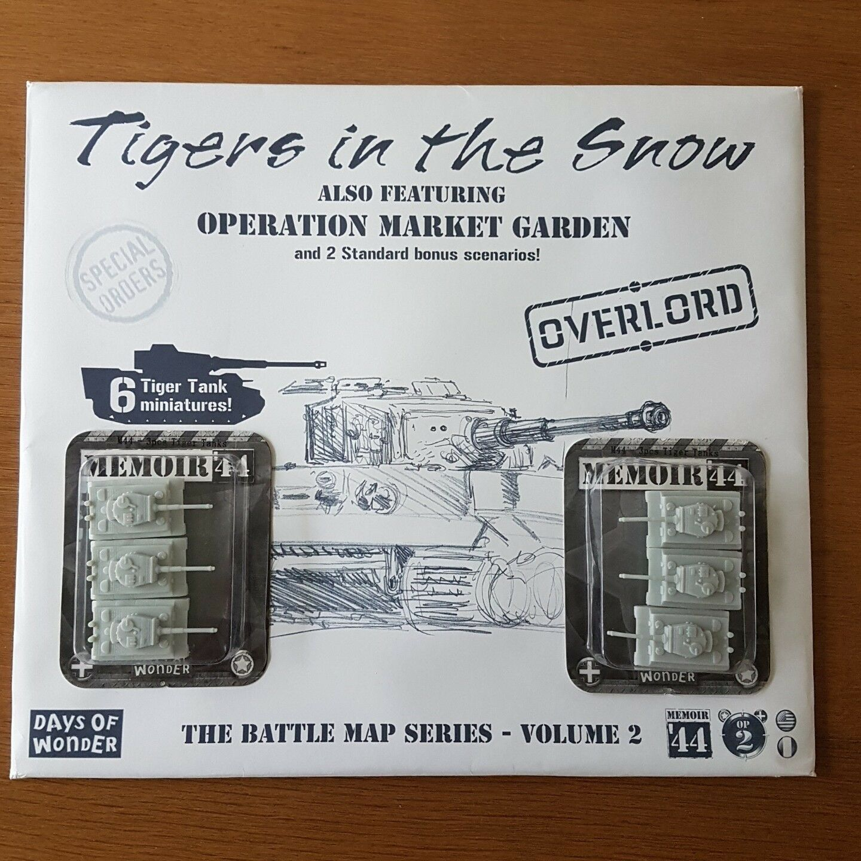 MEMOIR 44 Bataille Carte série  2 Tigres dans la neige-Days of Wonder NEU