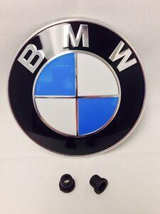 new bmw oem roundel hood trunk emblem bmw badge e46 e38. Black Bedroom Furniture Sets. Home Design Ideas