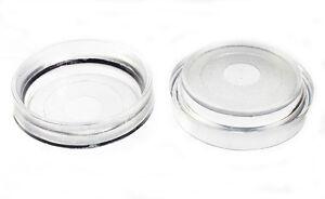 100-X-Klar-Rollen-Tasse-Boden-Schutz-Gleitet-Klein