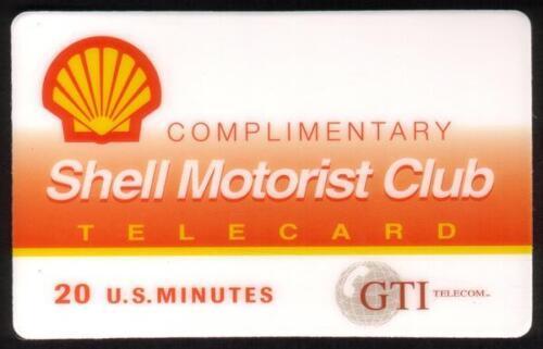 TK 8a GTI Telephonkarte//Phone Card 20m Shell Motorist Club