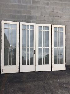 Bon Image Is Loading Cm 215 1 Set Antique French Doors With