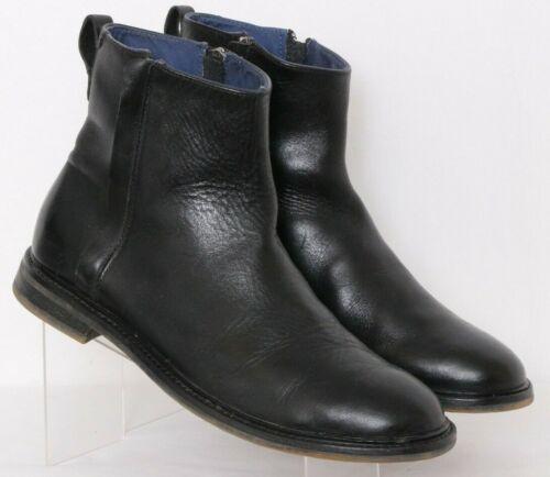 Skechers Mark Nason 68023 Belham Black Side Zips A