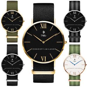 Reloj hombre/mujer TWIG HARING Military Edition clásico militar vintage