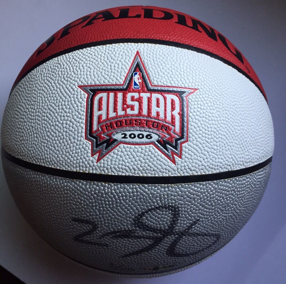 RARE Lebron James Autographed Basketball - ASG Houston 2006 LIMITED 2 50