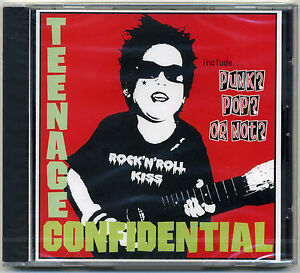 Teenage-Confidential-ROCK-039-N-039-ROLL-KISS-CD-JAPAN-press-Headbangers-forevers-Punk