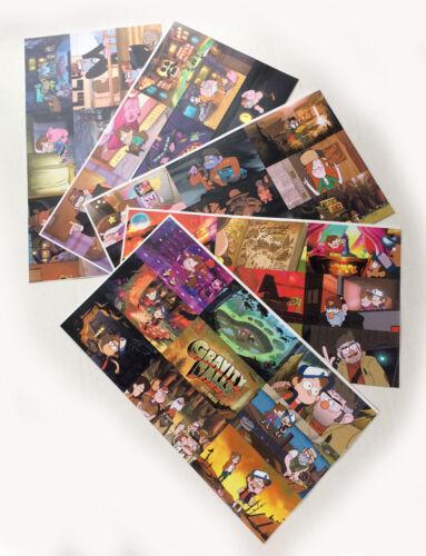 5 sheets Gravity Falls Paper Sticker Set number 2