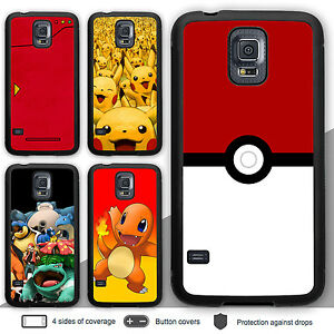 newest collection 16ecc c7b4a Details about Galaxy S8 S8 Plus Case Pokemon Bumper Print Cover for Samsung  S6 S5 Note 5 4 3