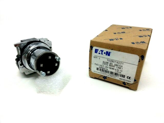 EATON CUTLER HAMMER 10250T15231 3 Pos Maint Selector Switch Operator