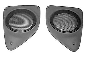 Pair Holders Containers Speakers Fiat Black Support Ducato Model Till 2006