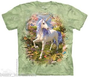 Unicorn-Forest-Shirt-Mountain-Brand-Mythical-Creature-Small-5X-graphic-tee