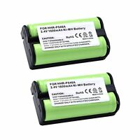 2x 2.4v 1600mah Ni-mh Cordless Home Phone Battery For Bellsouth 202432 2603 2652
