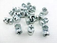 Exzenter Schrankverbinder Möbelverbinder 15x12 mm ohne Rand f.Fachböden ab 15 mm