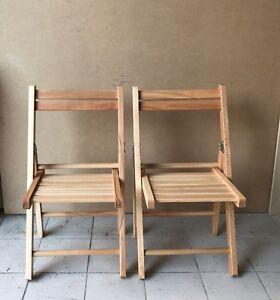 naturale bambini su offerta Dettagli gioco cameretta Sedia legno per pezzi pieghevole 2 in cFK3TJl1
