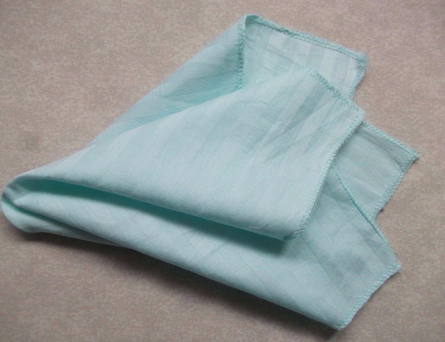 Taschentuch Baumwolle Tasche Quadratische Taschentuch Herren Taschentuch Aqua