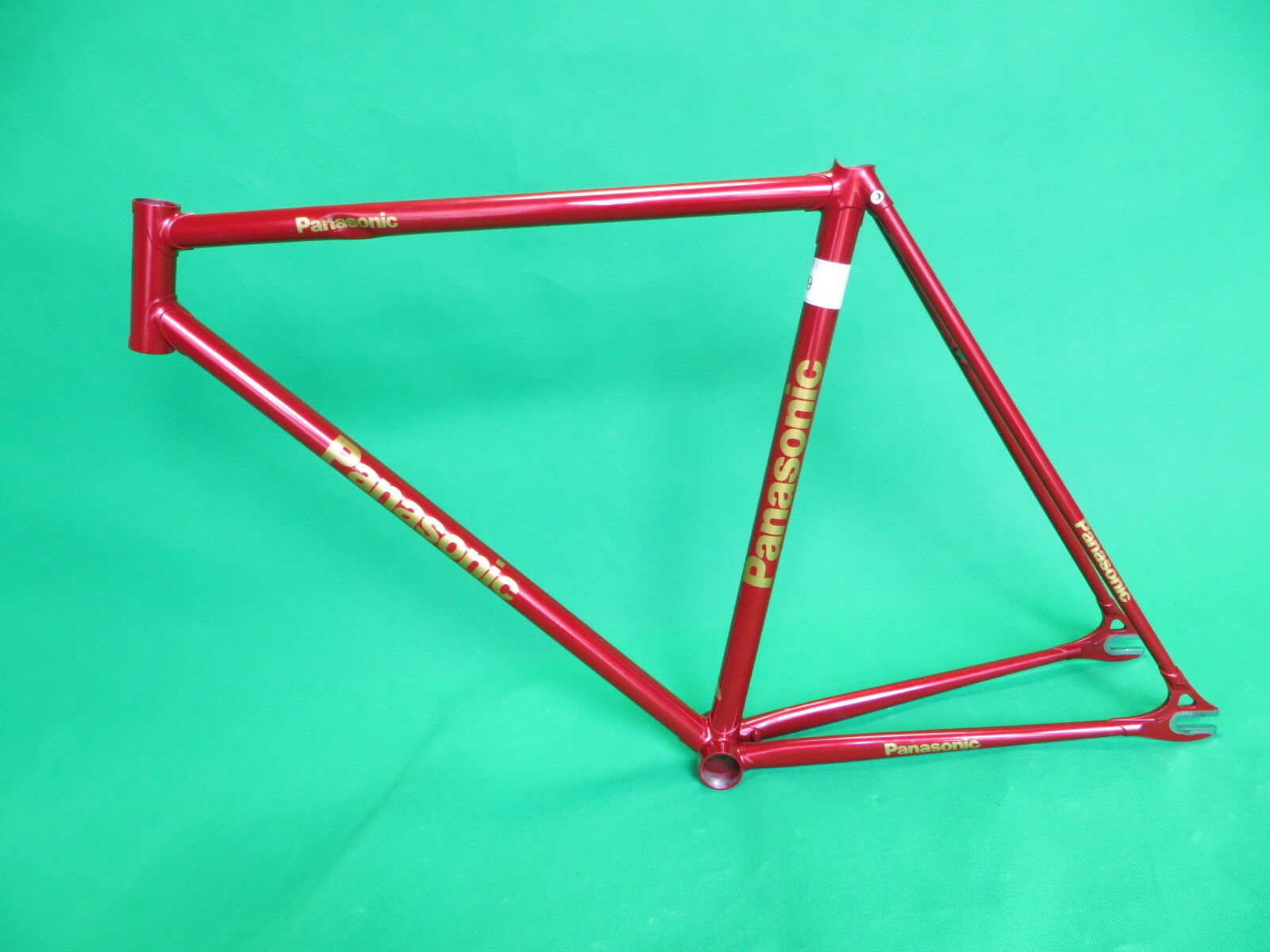 Panasonic NJS Keirin Pista Frame Track Bike NO FORK  Fixed Gear 52cm