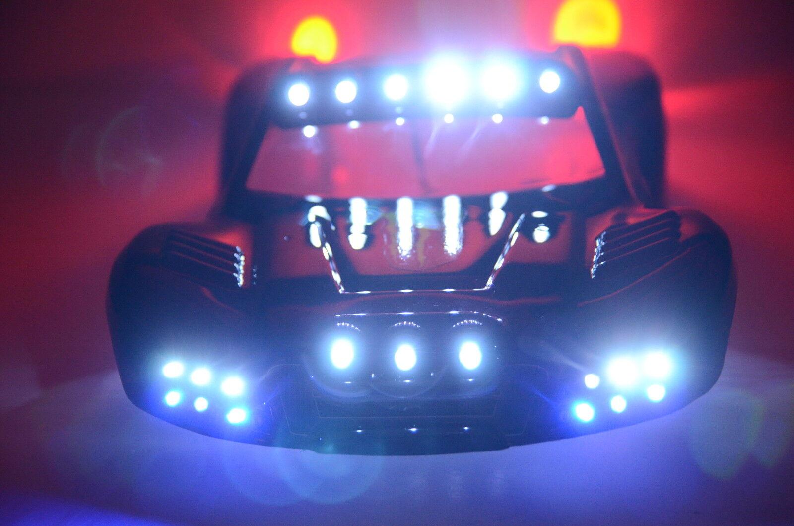 Custom LED Light Set for Traxxas Slash 4x4 2WD Ultimate Compatible w/ RC10  37