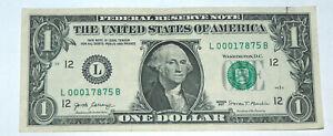 2017-Bill-Stati-Uniti-Banca-Nota-Arabia-Saudita-Zip-Codice-000-17875-Fancy-Soldi