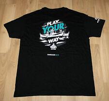 Wargaming World of Warships Tanks Promo T-Shirt from Gamescom 2016 Size L