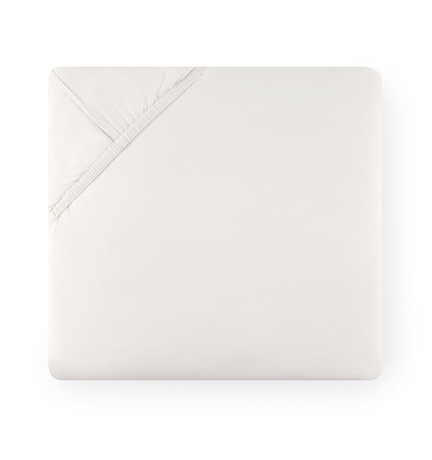 Sferra Grande Hotel Collection Italian Cotton Percale Fitted Sheet