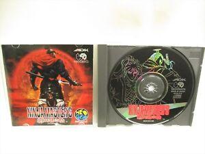 SNK-NINJA-MASTERS-Item-Ref-0541-NEO-GEO-CD-Neogeo-Japan-Game-nc