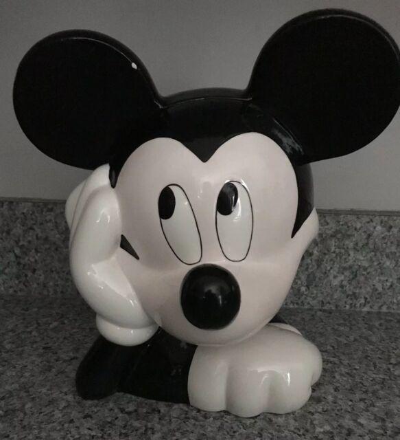 Disney Cookie Jars 1968 Now For Sale Ebay >> Disney Mickey Mouse Cookie Jar By Treasure Craft
