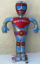 Radio Shack Radio Controlled Space Robot 1970's  40 inches tall