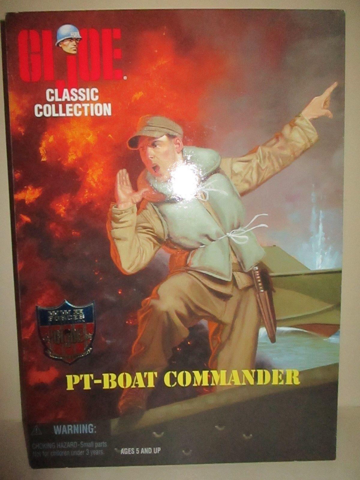 Gi - joe 12 zentimeter des zweiten weltkriegs marine pt Stiefel torpedo commander mib