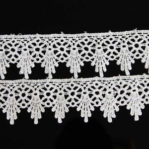 Lace-Trim-Ribbon-For-Wedding-Bridal-Dress-DIY-Embroidered-Sewing-Craft-2-Yards
