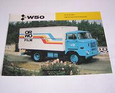 Prospekt / Broschüre DDR LKW IFA W 50 L/NKP-1 - Stand 1985!