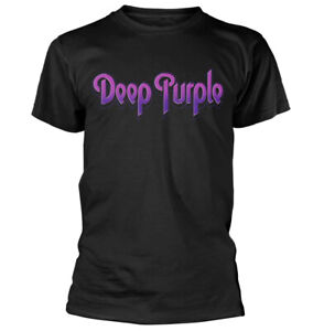 Deep-Purple-Logo-Shirt-S-M-L-XL-XXL-Tshirt-Official-Rock-Band-T-Shirt-New
