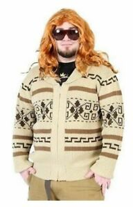 Adult-Movie-The-Big-Lebowski-Jeffery-The-Dude-Zip-Up-Costume-Cardigan-Sweater