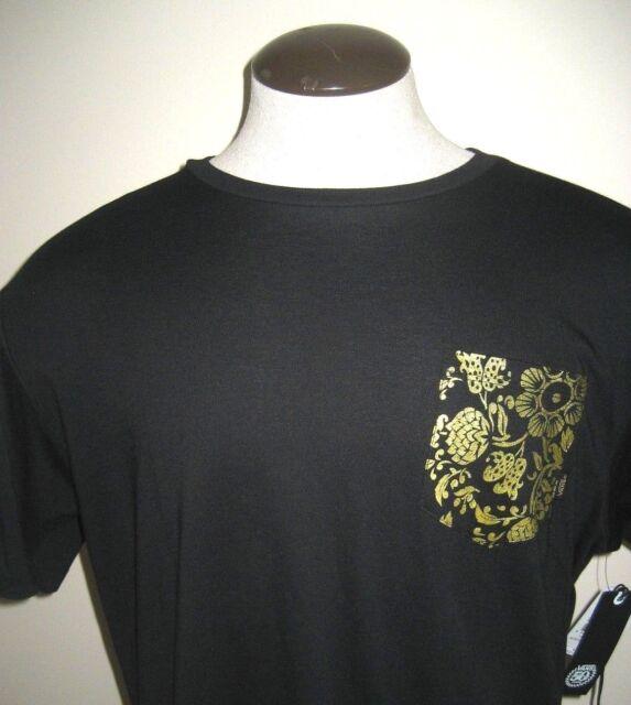 f6c5ca285a Vans Shoes Mens SS 50th Anniversary Pocket T Shirt Black Gold Large Free  Ship