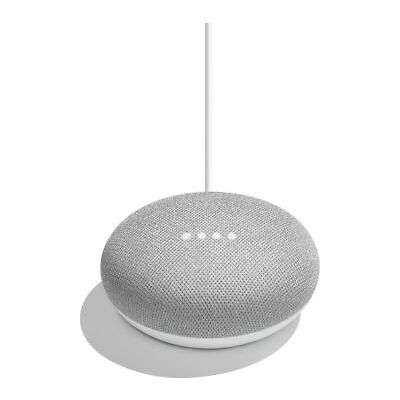 Google Home Mini Smart Assistant - Chalk -Brand NEW .