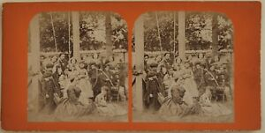 Scena-da-Genere-Modalita-Artistico-Altalena-Francia-Foto-Stereo-Vintage-Albumina