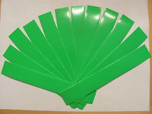 1 Douzaine Flo/fluorescent Green Arrow Wraps + Extras!!! * Plusieurs Tailles Disponibles *-t Green Arrow Wraps + Extras!!! *multiple Sizes Available*fr-fr Afficher Le Titre D'origine