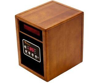 best most safest energy efficient portable infrared home office space heater ebay. Black Bedroom Furniture Sets. Home Design Ideas