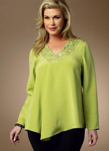 Butterick -... Butterick Señoras más tamaño fácil patrón de costura 5999 Jersey Tops