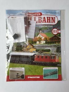 DeAgostini-miniatura-modello-ferroviario-Traccia-N-N-23-con-punti
