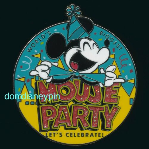 World/'s Biggest Mouse Party! Disney Pin *2019* Celebrate 90 Years of Mickey