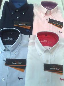 Camisa-Harmont-amp-Blaine-S-M-L-XL-XXL-XXXL-NUEVAS-oxford