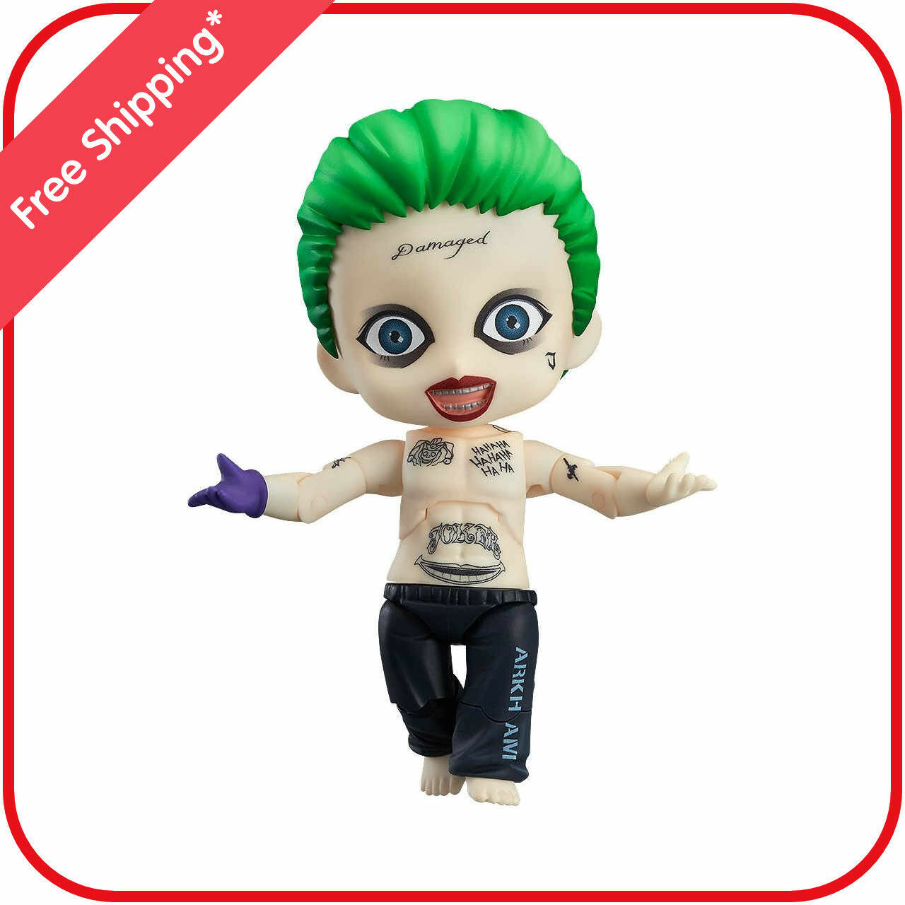 Good Smile Company Suicide Squad The Joker Nendgoldid Figure
