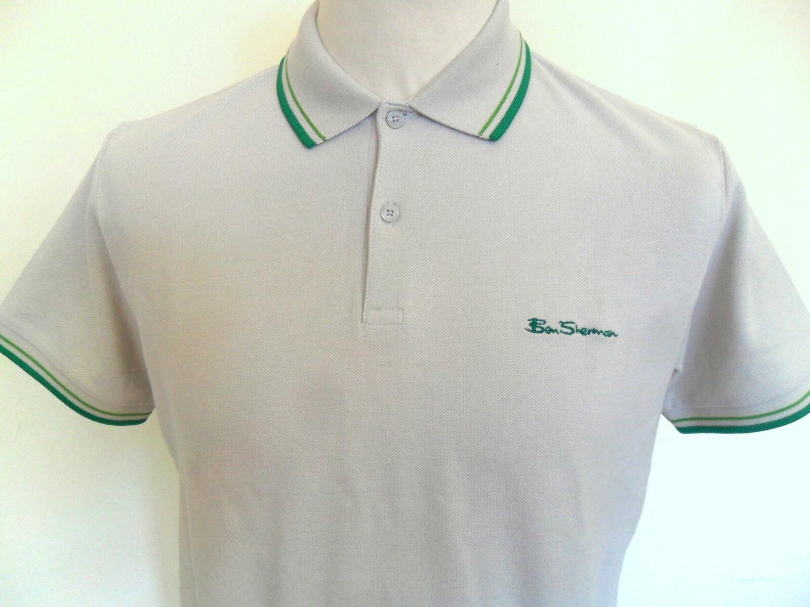 Ben Sherman T-shirt Uomo PESA POLO Romford beige taglie    M-XXL 116020